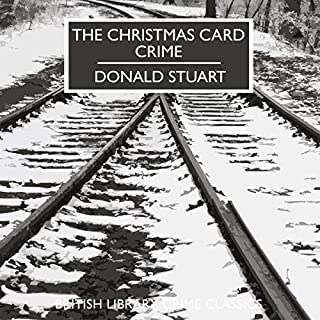 The Christmas Card Crime audiobook cover art