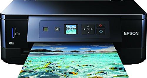 Epson Expression Premium XP-540 3-in-1 Tintenstrahl-Multifunktionsgerät (Drucker, Scanner, Kopierer, WiFi, Duplex, Einzelpatronen) schwarz