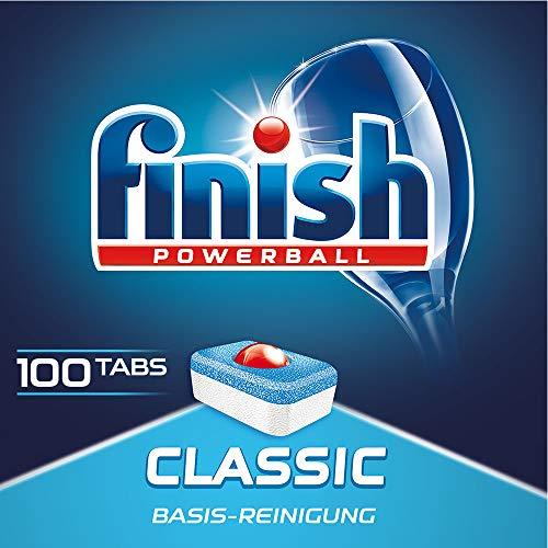 Finish Classic - Pastillas para lavavajillas