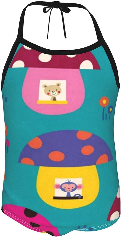 Girls One Pieces Swimsuit Cartoon Shark Beach Sport One Piece Swimsuit Beach Swimwear for Toddler Girl 2-6 Years ol