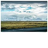 BilderKing Poster Panorama, Wüste Gobi Himalaya 150x100cm