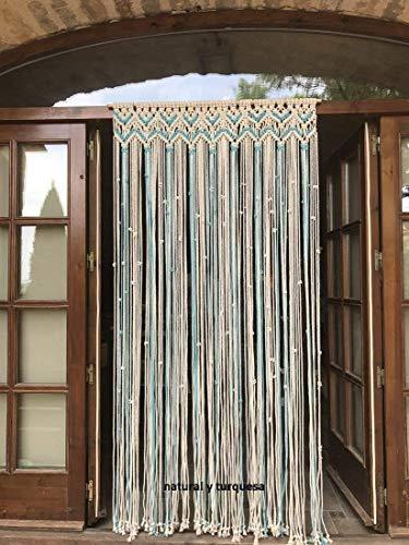 cortina de macrame 8