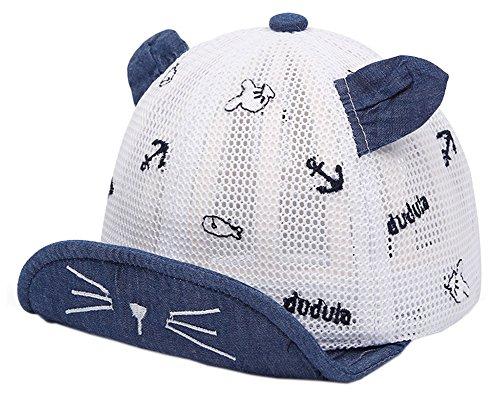 Chapeau d'été/6-12 mois Baby Sun Hat/Beret Cap/Baseball Cap/Peaked Cap Nave #17