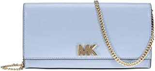 Mott Large Chain Wallet- Pale Blue