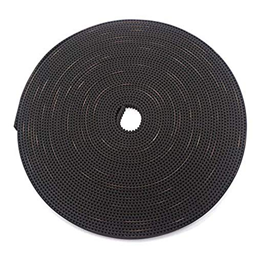 3D Printer Timing Belt 10Meters GT2 Timing Belt 2mm Pitch 6mm Width Rubber Fiberglass GT2 Open Timing Belt for 3D Printer CNC Reprap Prusa i3