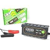 マキシマバッテリー 保証付 12V 全自動 リチウムイオンバッテリー専用充電器 バイク用