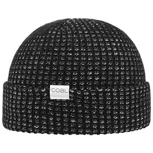 Coal Davey Beanie Mütze Wintermütze Strickmütze Umschlagmütze (One Size - schwarz)