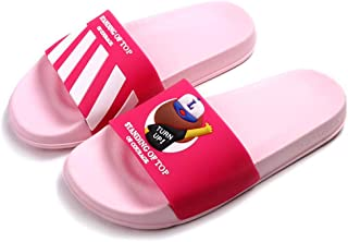 Cool Animal Bear with Cap Slides for Unisex - Classics Cute Anti-Skid Casual Men Slippers Flat Women Slide Sandals for Summer Slip-On Comfortable Boys Shoes for Indoor & Outdoor