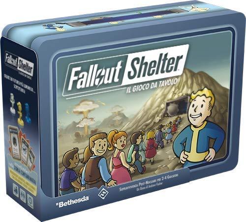 Asmodee- Fallout Shelter Gioco da Tavolo Edizione in Italian