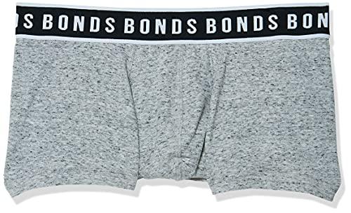 Bonds Men's Underwear Fit Trunk, Granite Marle, XX-Large