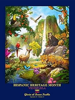 DiversityStore Venezuela - Hispanic Heritage Month Poster (HV) Copy Rights HMS Co.