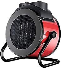 Escritorio Patio al aire libre del calentador, varias velocidades de ajuste de calefacción PTC Cerámica 2-3KW al aire libre calefactores de patio, puede cubrir 20-30 metros cuadrados,Rojo,230V/3000W