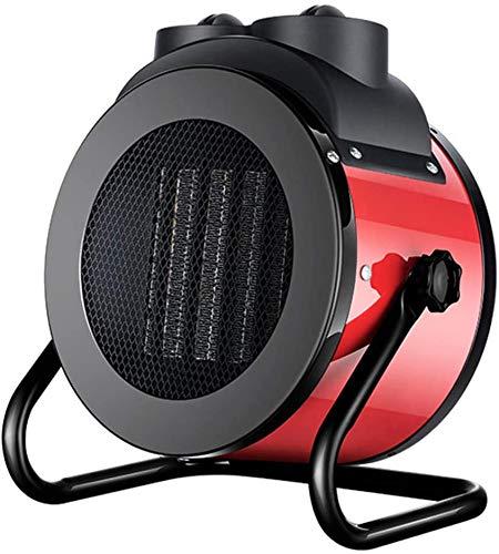 Escritorio Patio al aire libre del calentador, varias velocidades de ajuste de calefacción PTC Cerámica 2-3KW al aire libre calefactores de patio, puede cubrir 20-30 metros cuadrados,Rojo,230V/2000W