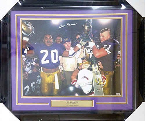 Washington Huskies NCAA Framed 8x10 Photograph University of Washington Team Logo