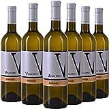 Vipava 1894 Vin blanc Malvazija 2018, (6 x 0,75 l), vendangé à la main, vin blanc sec
