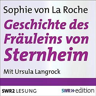 Geschichte des Fräuleins von Sternheim Titelbild