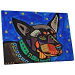 "Pingo World ""Heather Galler Australian Kelpie Dog Gallery Wrapped Canvas Wall Art"