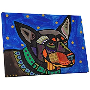 "Pingo World ""Heather Galler Australian Kelpie Dog Gallery Wrapped Canvas Wall Art 18"