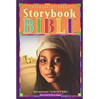 Children of Color Storybook Bible (new cover w girl& camel)