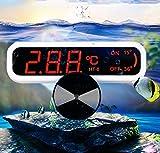YDYG Aquarium-Thermometer LED Digital Wasserdicht Thermometer Mit Saugnapf-Fisch-Behälter...