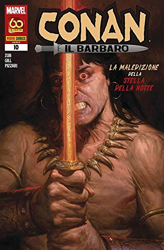 Fumetto Conan Il Barbaro N° 10 - Panini Comics – Italiano