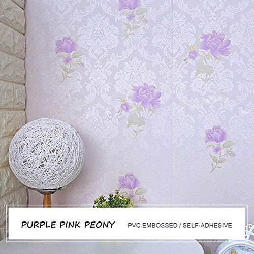 LZYMLG Wasserdichte PVC Selbstklebende Tapete Schlafzimmer Kinderzimmer Wohnkultur Möbel Aufkleber Warme Dekorative Hintergrund Wandaufkleber 7