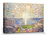 1art1 Edvard Munch - Die Sonne, 1910 Bilder Leinwand-Bild