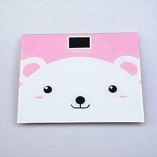 B/H Báscula de baño báscula Digital Ultrafina,Balance-Little Bear,Escala Corporal de precisión para Adultos en el hogar