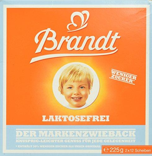 Brandt Markenzwieback laktosefrei, 225 g
