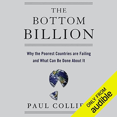 The Bottom Billion audiobook cover art