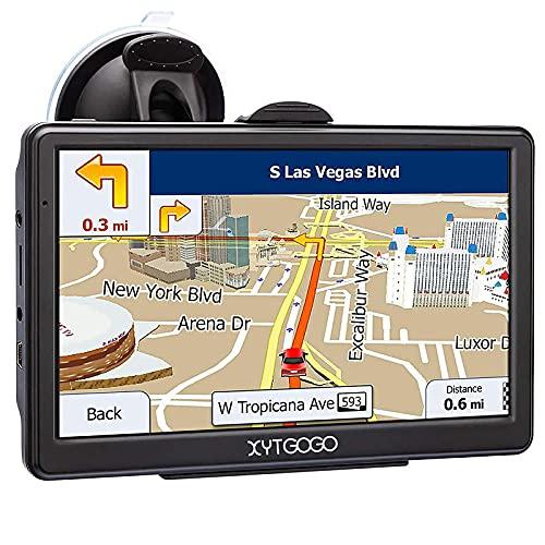 GPS Navigatore Satellitare 5 Pollici 2021 Aggiornamenti gratuiti delle mappe a vita Ultime Mappe EU include Codici Postali, Avvisi Autovelox e Assistenza di Corsia POI per Auto Camion