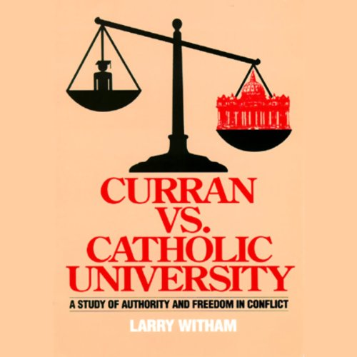 Curran vs. Catholic University audiobook cover art