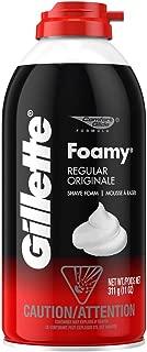 Gillette Foamy Shave Foam Original 11 Ounce (325ml) (2 Pack)