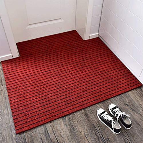 YAMMY Alfombrilla de Moda para Entrar a la Oficina Puerta de Seguridad Alfombrilla para el Suelo Puerta Exterior de la Cocina Entrada del hogar (Color: B, Tamaño: 80 * 100 cm)