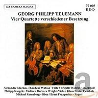 Telemann: Vier Quartette Versc