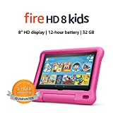 Fire HD 8 Kids tablet, 8' HD display, ages 3-7, 32 GB, Pink Kid-Proof Case