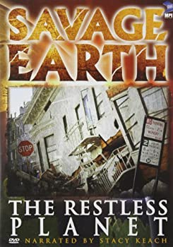 DVD Savage Earth: Restless Planet Book