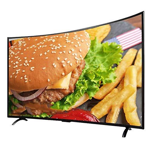 YILANJUN FullHD Smart TV Wi-Fi LED TV - (Schermo Curvo, 32 42 50 55 ), Proiezione dello Schermo del Telefono Cellulare, Intelligenza Artificiale, WiFi Dual-Band