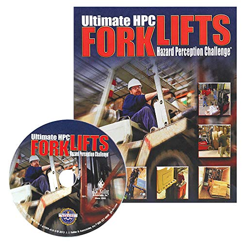 Forklift Hazard Perception Challenge English DVD Training Video - J. J. Keller & Associates - Helps Satisfy The Training Requirements of OSHA's Powered Industrial Truck Standard (1910.178)
