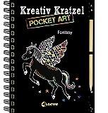 Kreativ-Kratzel Pocket Art: Fantasy (Kreativ-Kratzelbuch)