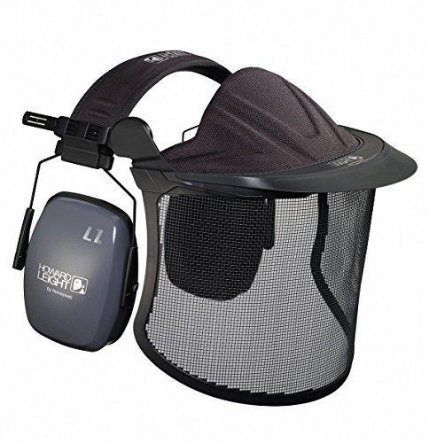 Honeywell Kit jardín Cara y Protección auditiva para Jardinero y Desbrozadora SNR 30 dB Incl. uno Pack almohadillas frías gratis