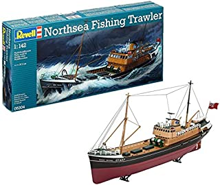 Revell North Sea Fishing Trawler, Kit Modello, Escala 1:142