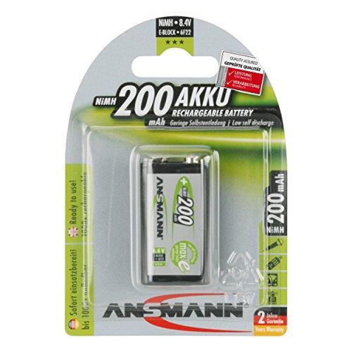 Ansmann Piles rechargeables NiMh 8.4V 200mAh