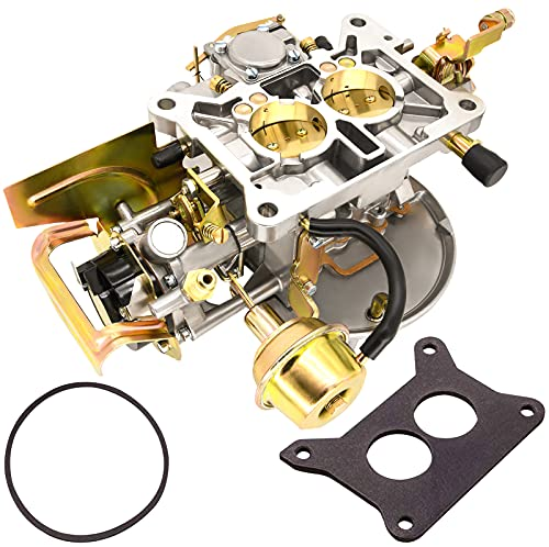 2 Barrel Carburetor Carb 2100 A800 2150 for Ford 289 302 351 Cu Jeep Engine F150 F250 F350 with Electric Choke Mounting Gasket - 302 Carburetor, 351 Carburetor 2-Barrel, 2150 Carb by Yolik