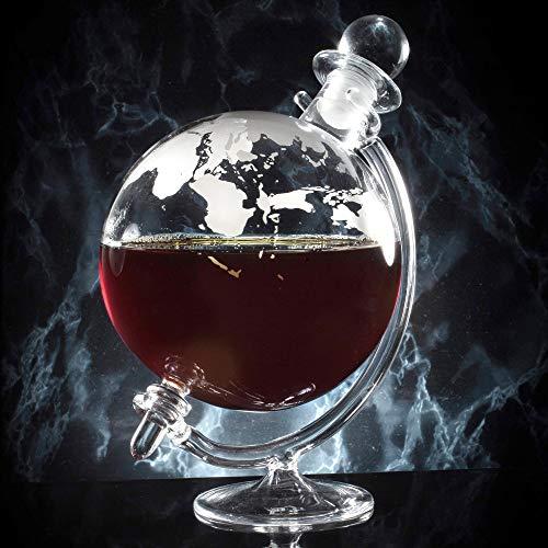 Jeray Mixology Globe en verre à Whisky Carafe à décanter avec support