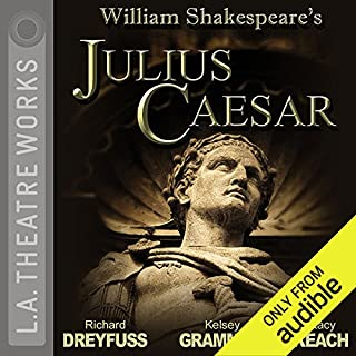 Julius Caesar                   Auteur(s):                                                                                                                                 William Shakespeare                               Narrateur(s):                                                                                                                                 Richard Dreyfuss,                                                                                        JoBeth Williams,                                                                                        Kelsey Grammer,                   Autres                 Durée: 2 h     1 évaluation     Au global 5,0