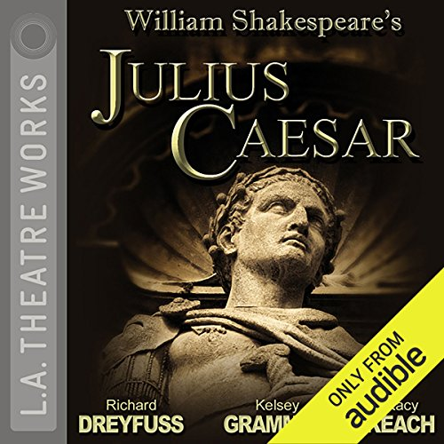 Julius Caesar audiobook cover art