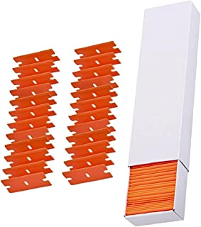 Razor Scraper Replacement Double Edged Plastic Sticker Remover for Wallpaper 100PCS,Other Consumables And Accessories