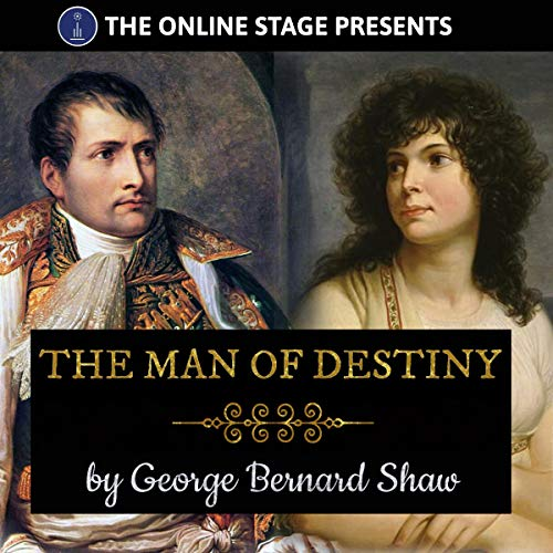 The Man of Destiny audiobook cover art