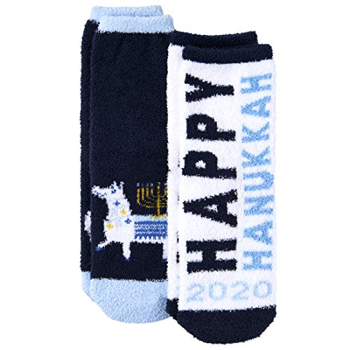 The Children's Place Baby Boys' Hanukkah Socks, Pack of Two, MULTI CLR, L 3-6